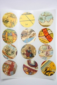 envelope seals made from book