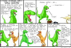 Dinosaur Comics Comic strip