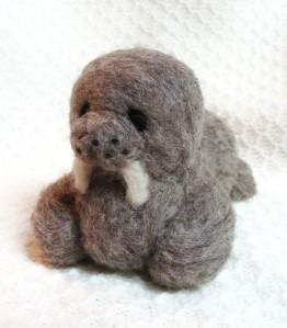 felted walrus