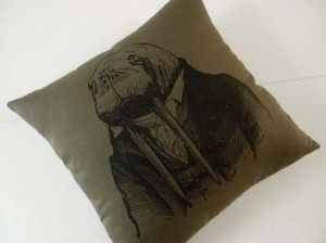 walrus pillow