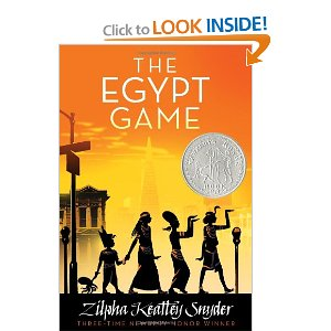 cover art for the Egypt Game