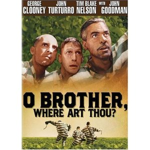 cover art for o brother where art thou