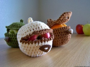 photo of apple cosy in action